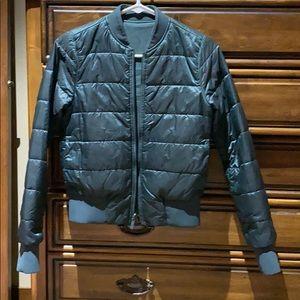 Lululemon bomber jacket size 4